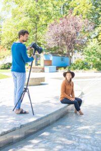 Behind the scenes - Fotoshooting WollenWir