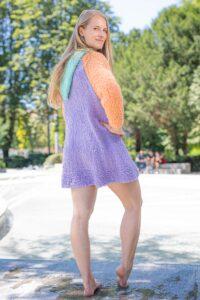 handgemachter Bademantel aus Wolle