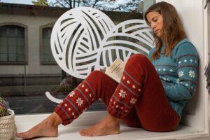Wollhose handarbeit gestrickt Wolle kaufen Zürich