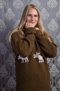 Wollpullover Weihnachten Zürich Handarbeit WollenWir